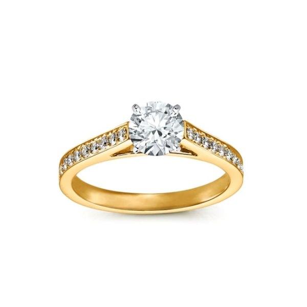 кольцо помолвочное фото
