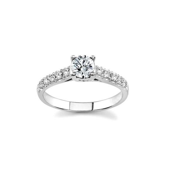 Кольцо из белого золота с бриллиантами - d-vita.ru 4f74dd8195e8c