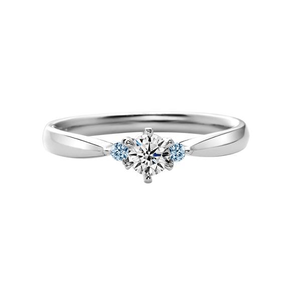 Кольцо для помолвки с бриллиантом и топазом - d-vita.ru f944870937c